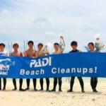 宮古島清掃活動とサンゴの観察